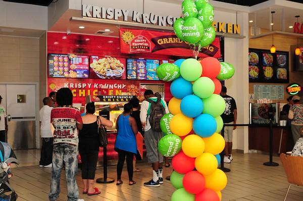 Krispy Krunchy Chicken Grand Opening 08.08.2015