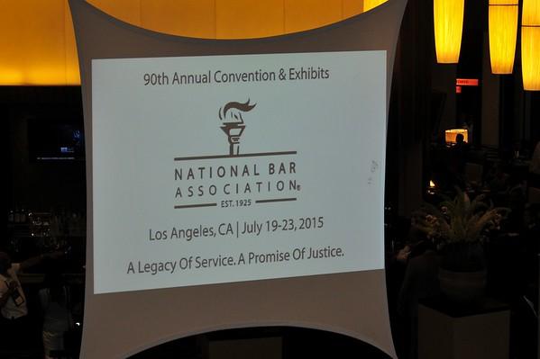 National Bar Association L.A. Reception 07.20.2015